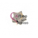 Conta Aço Inox Estrela - Prateada (1,5 mm)