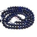 Fiada de Pedras Bolinhas Semi-Preciosas Lápis Lazuli (8 mm) - [48 unds]