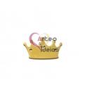 Conector Aço Inox Coroa - Dourado