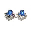Brincos Fashion Mood 24222 Azul Cobalto