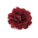 Flor de Tecido - Castanho Terra (50mm)