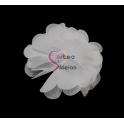 Flor de Tecido - Branco (50mm)