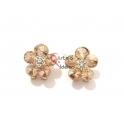 Brincos Fashion Mood 24695 - Flor Dourada