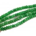 Fiada de Pedras Donuts Verde (8x5mm) - [72unds]