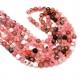 Fiada de Pedras Rosa Apontamentos Castanhos (6mm) - [62unds]