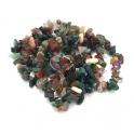 Fiada de Pedras Cascalho Verde e Tons Terra - [85cm]
