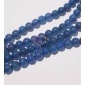 Fiada de Pedras Uniforme Azul Translucido (8 mm) - [48unds]