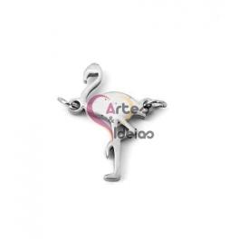 Conector Aço Inox Flamingo - Prateado