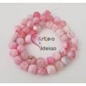 Fiada de Pedras Rosa Clarinho 2 (8 mm) - [48 unds]