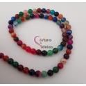 Fiada de Pedras Multicolor (6mm) - [62unds]