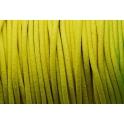 Cabedal redondo de 2 mm Fluorc. Yellow - 50 cm