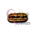 Conector Madeira HandMade - Castanho (20x10mm)