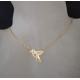 Fio Aço Inox Colecção Origami [Passarinho] - Dourado