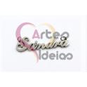 "Pendente Aço Inox NOME ""Sandra"" - Prateado (12x35mm)"
