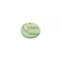 PACK 8 Pendente Madeira Redondo Colorido - Verde Claro (30mm)
