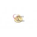 Pendente Aço Inox Multi-Estrelas - Dourado (20mm)