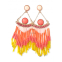 Brincos Fashion Mood Missangas