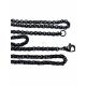 Fio Aço Inox Completo 316 L Elo Redondo (3mm) - Preto [59cm]