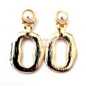Brincos Fashion Mood O's - Dourados