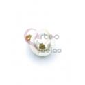 Pendente AQ Perola - Dourado (10mm)