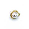 Pendente AQ Aro Perola - Dourado (11mm)
