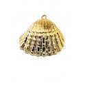 Pendente Concha - Dourado (24x30mm)