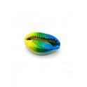 Pendente Buzio / Concha - Amarelo Verde Azul (24x15mm)