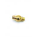 Fecho Aço Inox Redondo Bolinha - Dourado (4mm)
