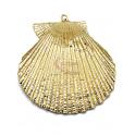 Pendente Concha Dourado (47mm)
