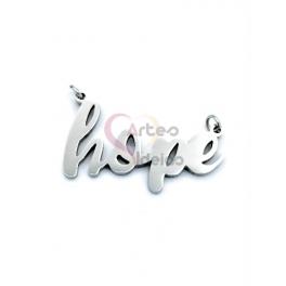 Conector Aço Inox «Hope» - Prateado (13x25mm)