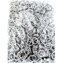 Argolas Metal de 12mm - Prateadas (1000un)