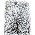 Argolas Metal de 12mm - Prateadas