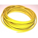 Cabedal Plano Flourescent Yellow (5 mm)