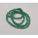 Fiada Contas de Cristal Facetadas - Verde AB (4mm)