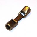 Fecho Zamak de Encaixe - Bronze (5mm)