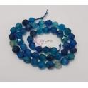 Fiada de Pedras Hexagonais Mix Azulão (8mm)