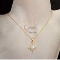 Fio Aço Inox Estrela Brilhante - Dourado