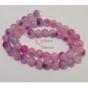 Fiada de Pedras Mesclado Rosa e Violeta (8mm)