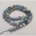 Fiada de Pedras Azul Claro Marmoreado (8mm)