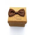 Caixa Quadrada Mini - Castanho