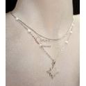 Fio Aço Inox Duplo Pearl Simplicity [Estrela] - Prateado