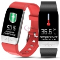 SmartWatch Health & Sports (Body Temperature, Blood Pressure, Heart Rate, Exercises)