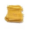Conjunto Saco Organza Amarelo (11x9cm) - [100und]