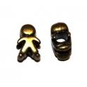 Conta Metal Menino - Bronze (4/5 mm)