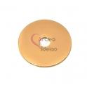 Pendente Aço Inox Disco - Dourado (25mm)
