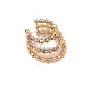 Ear Cuff Aço Inox Escadinha - Dourado