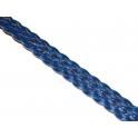 Cabedal Entrançado Plano Blue (15 x 2)