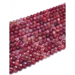 Fiada de Pedras Rosa Avermelhado Mesclado (8mm)