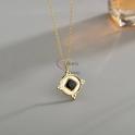 Fio Aço Inox Black Collection [Redondo com Losangulo] - Dourado