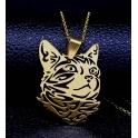 Fio Aço Inox Cat - Dourado